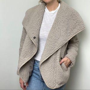 ARIAT Faux Fur Wrap Jacket Coat